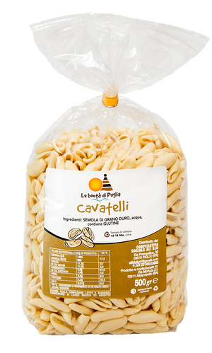Cavatelli pugliesi 500 g Bontà di Puglia